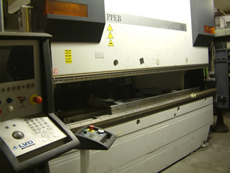 CNC Press Brake - LVD 110 tonne (3000mm capacity, 8 axis)